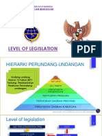 Meeting 1. Hierarki Peraturan Perundang-undangan