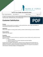 PP 8.2.1 Customer Satisfaction