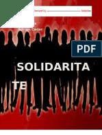 Solidaritate Un Proiect Politic Social Democrat