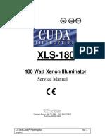 LIT-044A CUDA 180 WATT SERVICE MANUAL