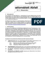 Freistaat Thueringen Abfall Gleisschotter 12 2016