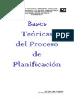 BASES TEORICAS DEL PROCESO DE PLANIFICACIÓN.   COMPILACIÓN (1)