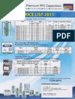 Price List Capacitor Epcos