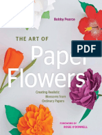 Bobby Pearce - The Art of Paper Flowers