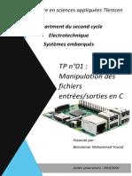 TP1 Raspberry Pi