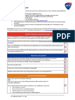 Application-Checklist
