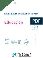 "Informe del Observatorio Social de ""La Caixa"""