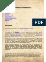 COMBATE DE RIOBAMBA. Antecedentes_