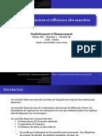 Chapitre 1 - Marchés financiers et efficience des marchés.pptx