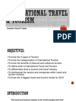 International Travel and Tourism
