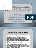 Analisis Nilai Absorbansi dalam Penentuan Kadar Flavonoid untuk.pptx