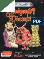 Mayfair Games - Role Aids - 767 - Demons - Denizens of Diannor
