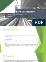 APIs and API Marketplace