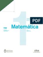 01 CUADERNO PARA EL AULA Matemática