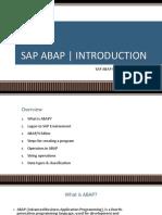 ABAP Programming 01