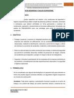 PLAN DE SEGURIDAD Y SALUD OCUPACIONAL LA FLORIDA-NAUYAN RONDOS