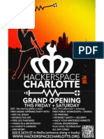 Hacker Space Charlotte Grand Opening