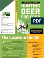 The Beginner's Guide to Hunting Deer