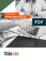 Checklist-estrategia-digital  Titular
