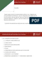 Comunicacion Institucional de La Iglesia(1)