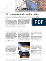 Oil Contamination in Marine Boilers