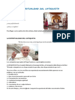 Espiritualidad del catequista
