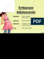EMBARAZO ADOLESCENTE PPT