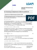 Zur Verwendung von Eigenformen in DIN 4131 und DIN 4149