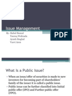 Issue Management New