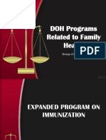 DOH Programs Related to Family Health (EDITED).pptx