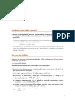 Matematicas Resueltos(Soluciones) Inferencia Estadística I 2º Bachillerato Opción A