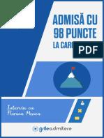 Interviu #1 - Admitere 2018 - București - Florina Monea
