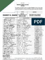 Davis Signatures - pgs. 2001 - 2031