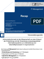 Zusammenfassung IT Management
