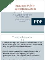 Integrated Public Transportation System