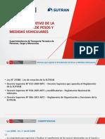 TEMA N° 03 - MARCO REGULADOR DE PESOS Y MEDIDAS, ALCANCES DE LA SUTRAN EN LA FISCALIZACION