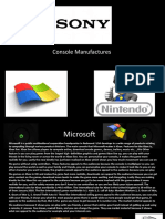 Console Manufactures