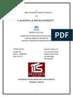 TRAINING & DEVELOPMENT TATA STeel.doc