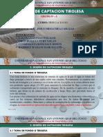 GRUPO 3 - DISEÑO DE CAPTACIO TIROLESA