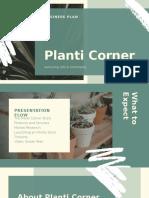 Green Business Plan Business  Presentation (1)