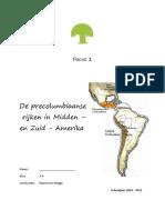 Focus de Precolumbiaanse Rijken