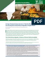 An Agro-Pastoral Liaison Service