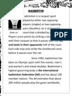 uttam project badminton.docx