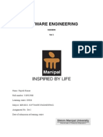 MB0033 Software Engineering Fall 10