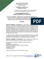 ACUERDO VIGILANCIA JUDICIAL-PSAA-11-8716 DE 2011