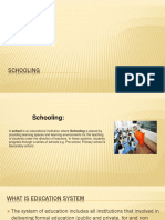 schooling