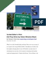 Scribd Editor's Pick on Huffington Post_Helen Winslow Black