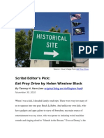 Scribd Editor's Pick on Huffington Post_Helen Winslow Black
