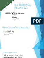 Slides-Portos e Hidrovias - Região Sul