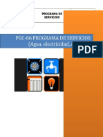 PGC- 06 Programa de Servicios